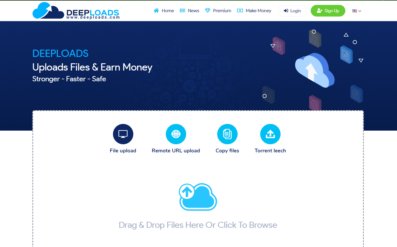 Deeploads Review: Upload Files and Make Money 2020